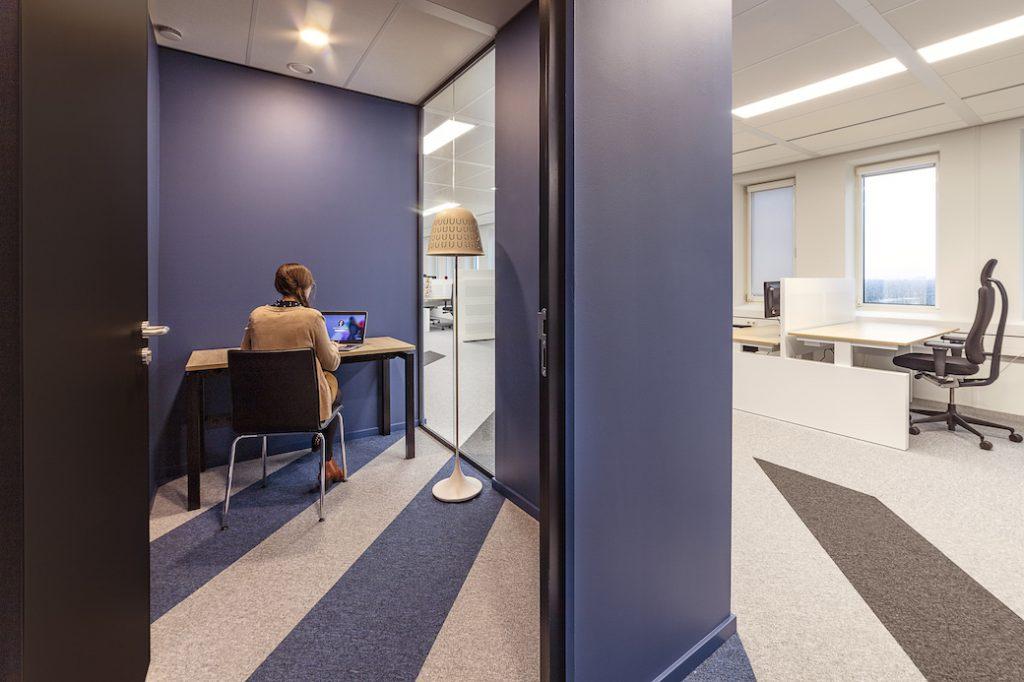 concentratiewerkplek kantoor